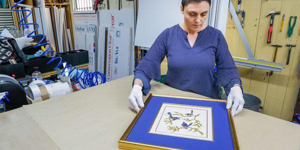 needlework framing